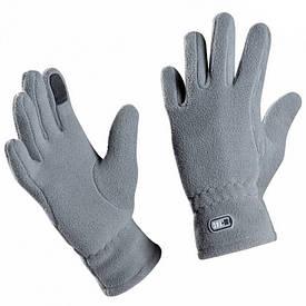 M-Tac перчатки флисовые зимние серые