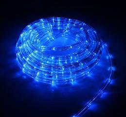 Гирлянда-дюралайт светодиодная трехжильная 10 м Синяя dur-10m-sin, КОД: 1333152