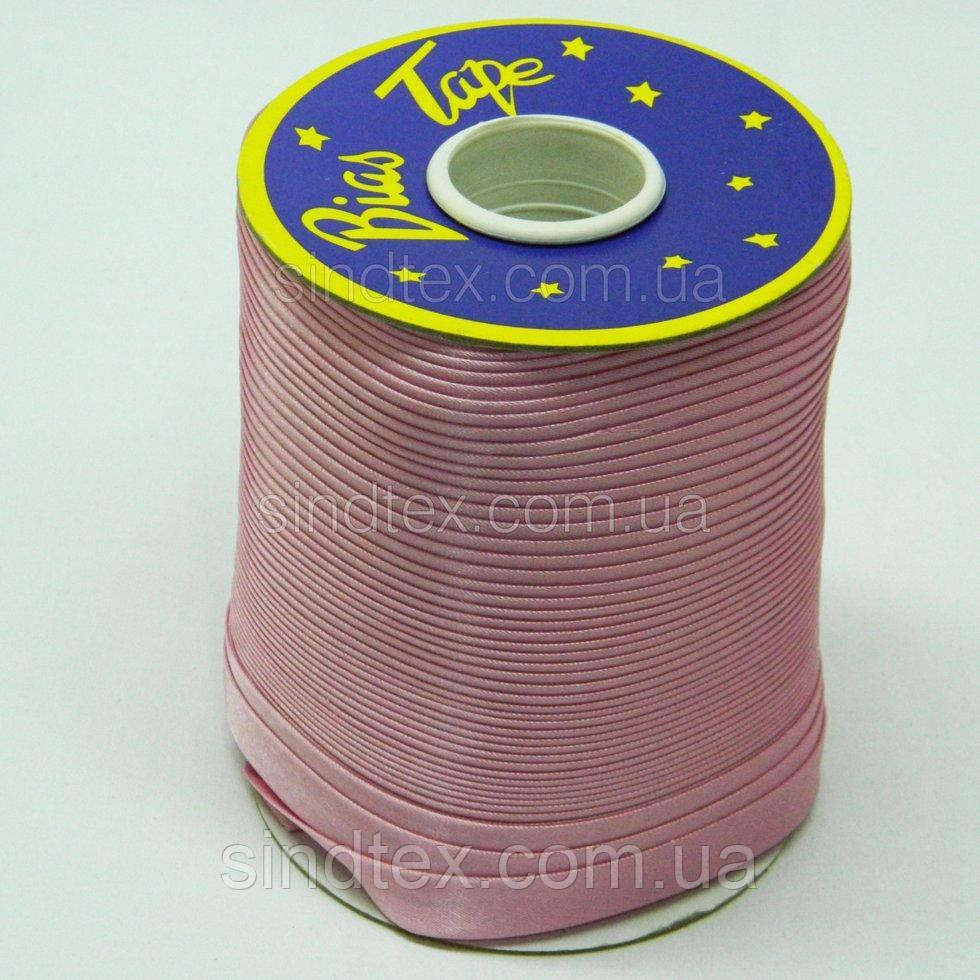 3102 Косая бейка атласная, (розового цвета) (6-2274-М-3102)