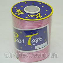 3102 Косая бейка атласная, (розового цвета) (6-2274-М-3102), фото 3