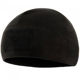 M-Tac шапка флисовая с велкро Watch Cap Elite черная