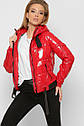 Женская модная демисезонная куртка X-Woyz 8860 Размеры 42 44 48, фото 6