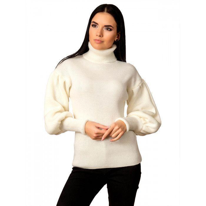 Красивый свитер с необычными рукавами.Разные цвета