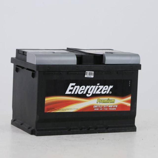 Аккумулятор Energizer 6СТ 77 Premium