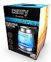 Стеклянный чайник 1,7 л Camry CR 1242  с регулировкой температуры, фото 7