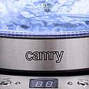 Стеклянный чайник 1,7 л Camry CR 1242  с регулировкой температуры, фото 8