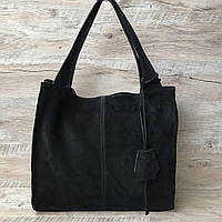 Итальянская замшевая сумочка Vera Pelle для истинных любителей качества и стиля, фото 1