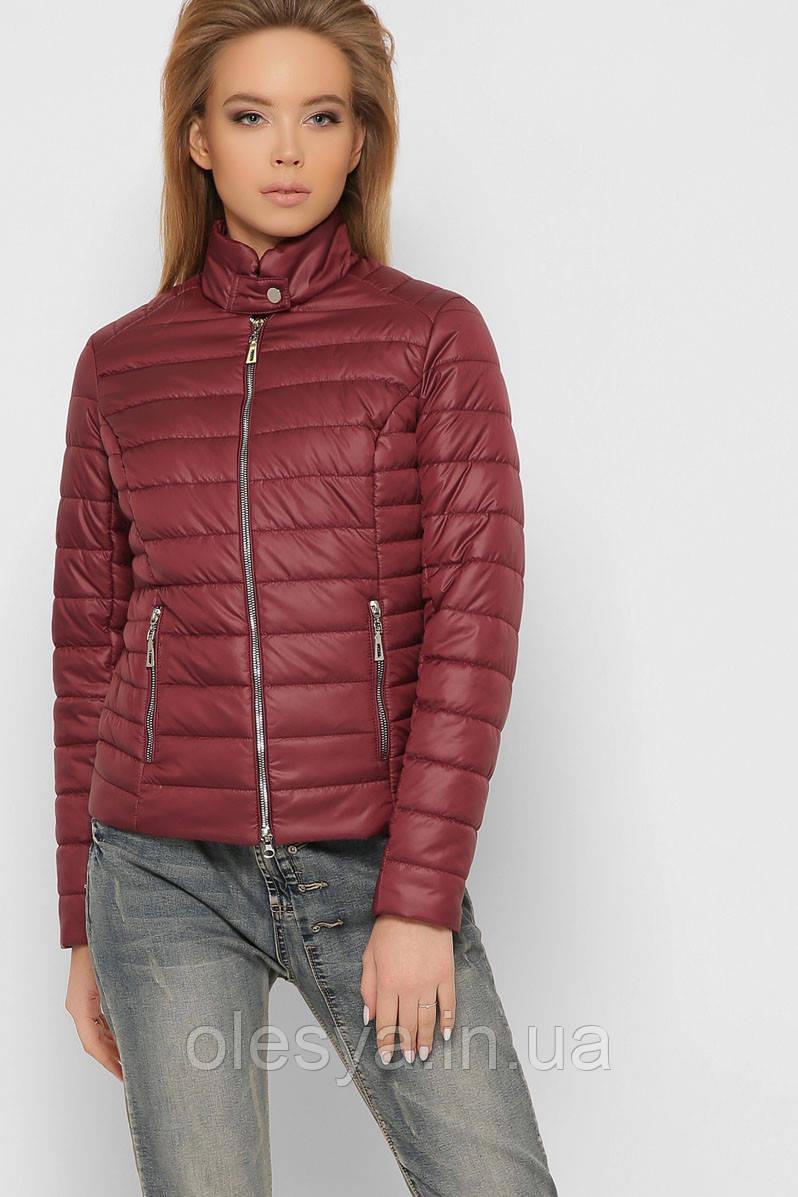 Модная легкая комфортная Куртка женская демисезонная 8820 X-Woyz Размеры 42