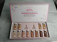 Набор из 5-ти оттенков BB glow Starter Kit Stayve Korea  бб глоу Стайве Корея - 1 упаковка- 12 шт/8 мл, фото 1