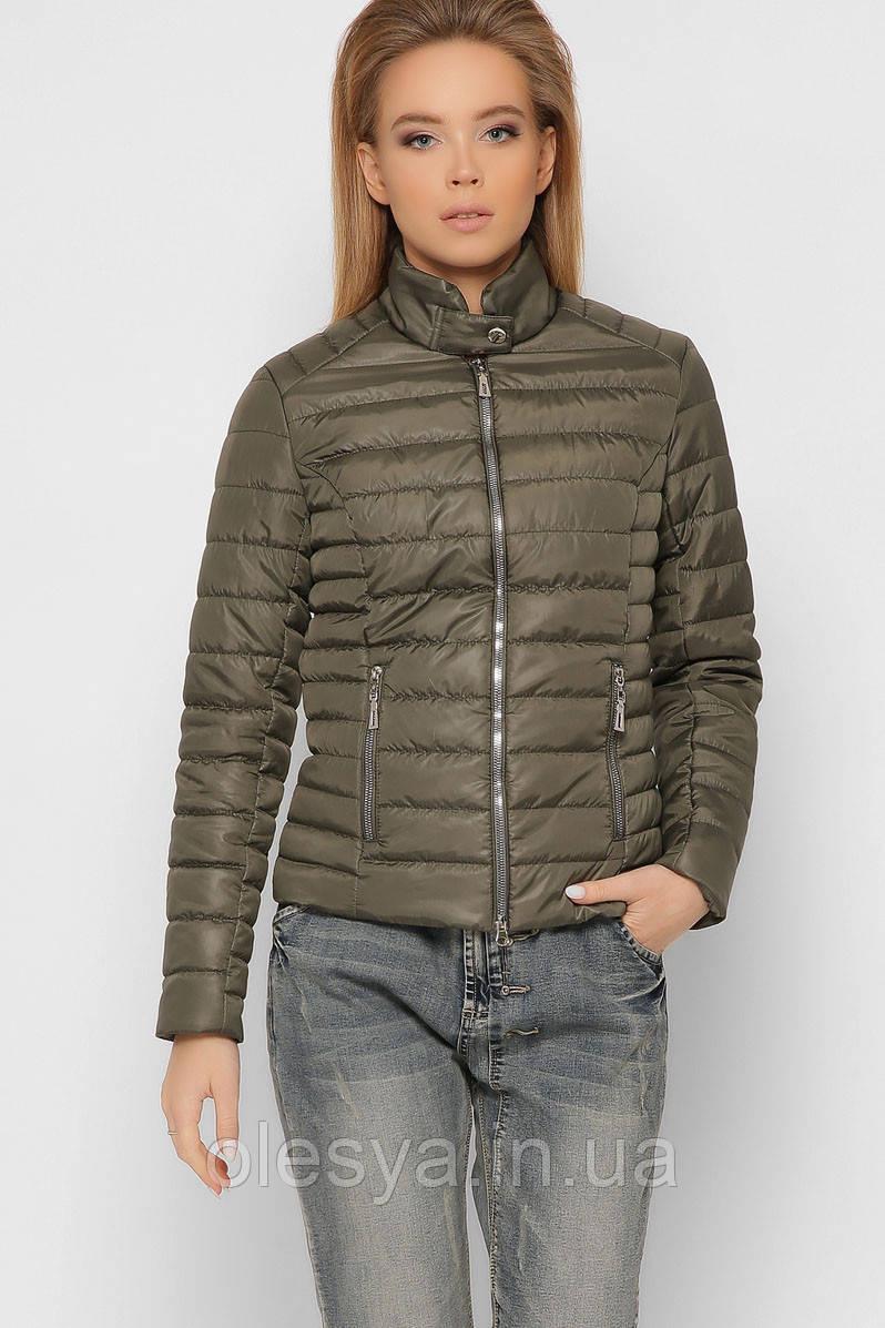 Стеганая короткая женская Куртка X-Woyz 8820 размеры 42