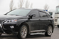 Боковые пороги Fullmond (2 шт, алюминий) Lexus RX 2009-2015 гг.