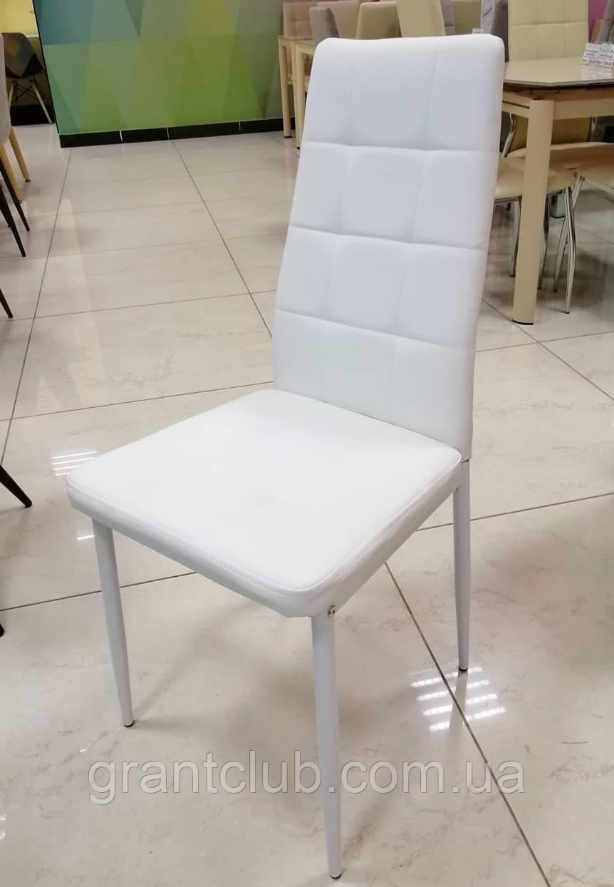 Мягкий стул N-66-2 белый кожзам Vetro Mebel (бесплатная доставка)