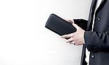Клатч Xiaomi 90fun Men Business Long Wallet Black, фото 2
