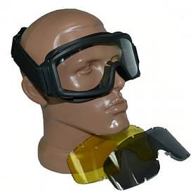 Тактические очки Revision 3 линзы черные