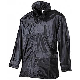 Дождевая куртка MFH чёрная