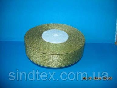 Лента парча 2,5 см. № 01/G-Z (UMG-1335)