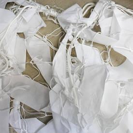 Маскировочная сеть синтетика белая