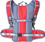 Рюкзак WEDO B017 Рюкзак с солнечной панелью, 6,5Вт, USB, Красный (SUN0422), фото 4