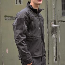 Куртка Mil-Tec Prof.Softshell черная