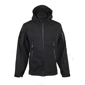Куртка Softshell Chameleon с капюшоном черная