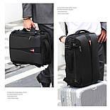 Рюкзак Poso (PS-629) Anti-theft backpack Black, фото 3