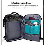 Рюкзак Poso (PS-629) Anti-theft backpack Black, фото 4