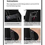 Рюкзак Poso (PS-629) Anti-theft backpack Black, фото 6