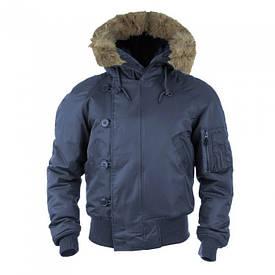 Куртка летная Mil-Tec N2B Teesar темно-синяя