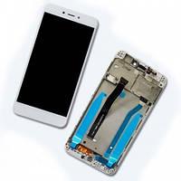Дисплей Redmi 4X белый с корпусной рамкой | LCD экран | XIAOMI | Модуль в сборе