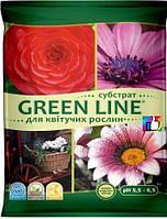 """Субстрат """"Green Line"""" для цветущих растений"""