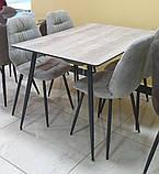 Стол TM-45 сивый 120х80 (бесплатная доставка), фото 2