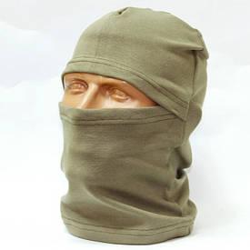 Балаклава маска х/б олива