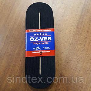 Резинка OZ-VER 2,5см. Черная (СТРОНГ-0438)