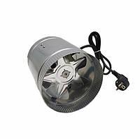 Вентилятор осевой  канальный 150 мм металлический VENUS VKAM 150