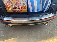 Накладка на задний бампер OmsaLine (нерж.) Audi Q5 2008-2017