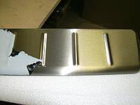 Накладка на задний бампер МАТ OmsaLine (нерж) Nissan Juke 2010↗ гг.