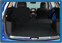 Накладка на задний порог (нерж.) Mazda CX-5 2012-2017 гг.