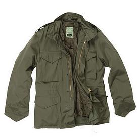 Куртка Mil-Tec М65 с подстежкой олива