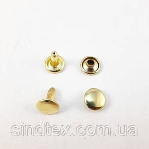 Холитен 6х6 Золото (2000шт.) двухсторонний (СТРОНГ-0202)