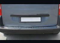 Накладки на задний бампер OmsaLine (нерж.) Peugeot Bipper 2008↗ гг.