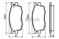 Колодки тормозные HYUNDAI ACCENT, KIA RIO II передние (Bosch). 0 986 494 139
