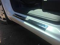 Накладки на пороги Laser-style (2 шт, сталь) Mercedes Vito W638 1996-2003 гг.
