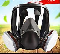 Аналог полнолицевой маски 3М серии 6800 комплект 7в1 / маска 3М