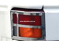 Накладки на стопы (нерж., Omsa) Volkswagen T4 Transporter
