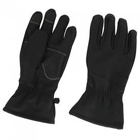 Перчатки softshell True Guard черные