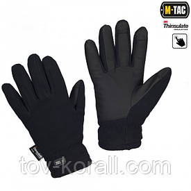 M-Tac перчатки зимние Fleece Thinsulate navy blue