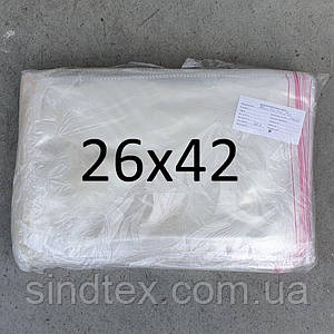 Пакет упаковочный с липкой лентой 26х42 (1000шт.) (ИР-015)