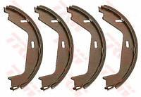 Колодки тормозные барабанные VOLVO S60, S80, задние (TRW). GS8674