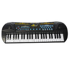 Синтезатор HS4911 49 клавиш,микрофон,USBзарядн,запись,демо,на бат-ке,в кор-ке, фото 2