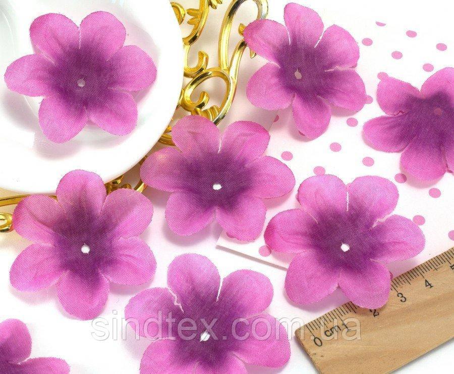 (10 ГРАММ 60 шт) Заготовка для цветка, пресс Ø55мм Цвет - Розово-сиреневый (сп7нг-1570)